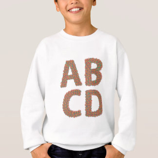 letters set sweatshirt