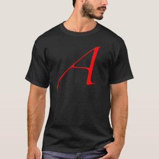 Lettre d'écarlate A (pour l'athée) T-shirt