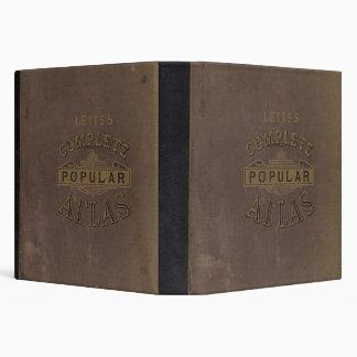 Letts's popular atlas 3 ring binders