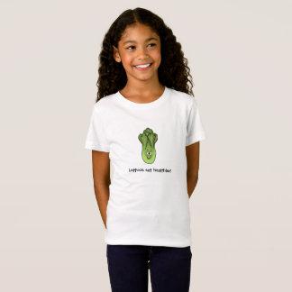 Lettuce eat healthier! T-shirt for healthy eating