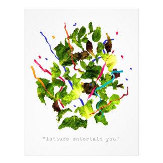 lettuce entertain you - dark personalized letterhead