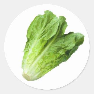 Lettuce Garden Label