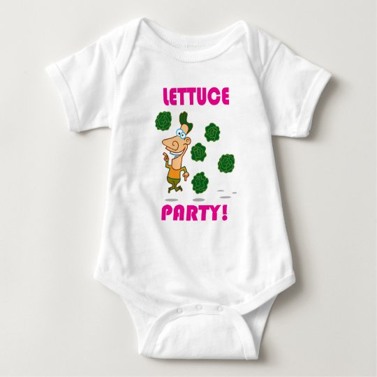 Lettuce PARTY! Baby Bodysuit