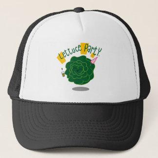 Lettuce Party Trucker Hat