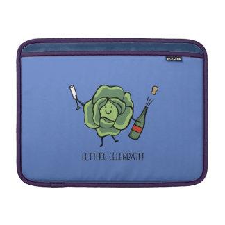 Lettuse celebrate MacBook sleeve