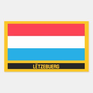 Lëtzebuerg Flag Sticker