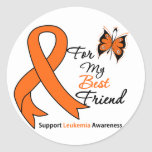Leukaemia -  For My Best Friend Sticker