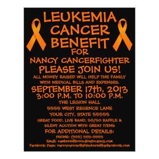 Leukemia Cancer Fighter Benefit Flyer