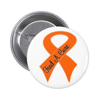 Leukemia Find a Cure 2 Inch Round Button