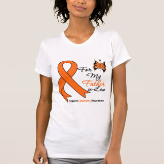Leukemia - For My Father-in-Law T-shirt