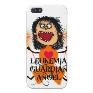 Leukemia Guardian Angel iPhone 5 Covers