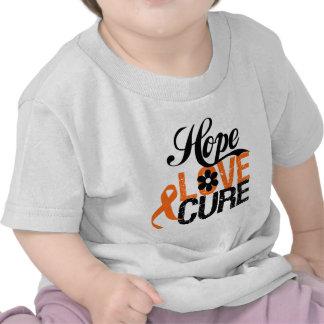 LEUKEMIA Hope Love Cure Gifts Tee Shirts
