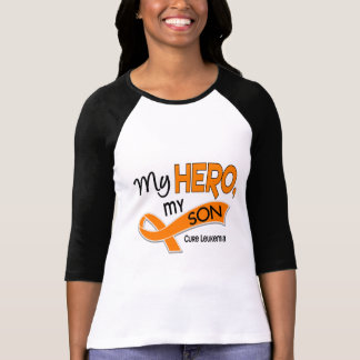 Leukemia MY HERO MY SON 42 T-Shirt