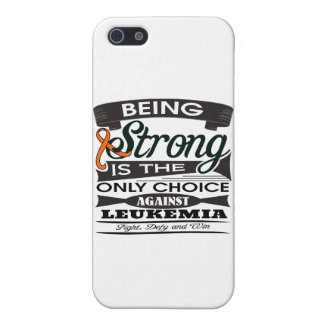 Leukemia Strong is The Only Choice Cover For iPhone 5/5S
