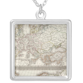L'Europe 800, 1500 Silver Plated Necklace