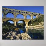 L'Europe, France, Pont du le Gard. Pont du le Gard Affiches
