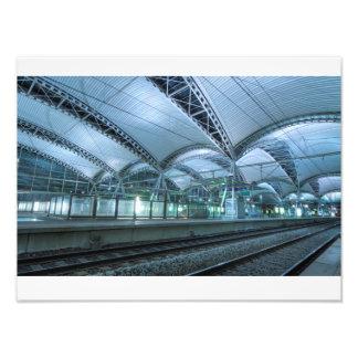 Leuven train station interior photo