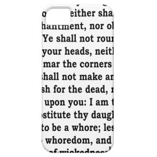 Lev. 19: 26 iPhone 5 cases