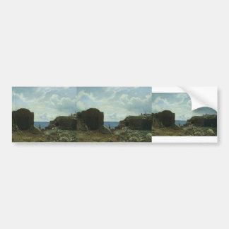 Lev Lagorio- Fisherman's settlement Bumper Stickers