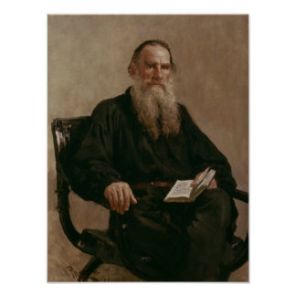 Lev Tolstoy  1887 Poster