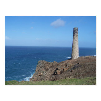 Levant Mine Cornwall Postcard