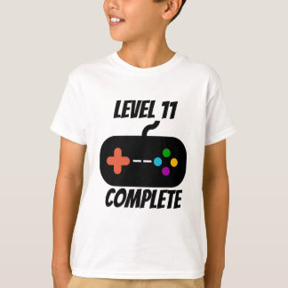 Level 11 Complete 11th Birthday T-Shirt