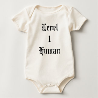 Level 1 Human Baby Bodysuit