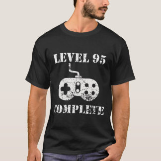 Level 95 Complete 95th Birthday T-Shirt