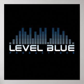 LEVEL BLUE POSTER