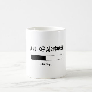 Level of Alertness Mug Design