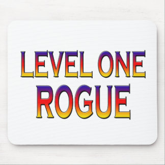 Level one rogue mouse pads