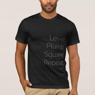 Level Plumb Square Repeat (Premium) T Shirt