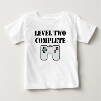 Level Two Complete Second Birthday Baby T-Shirt