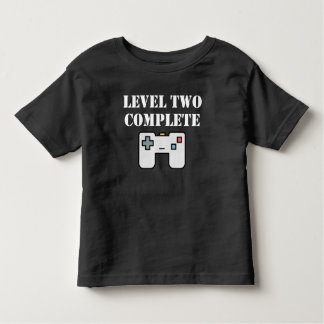 Level Two Complete Second Birthday Toddler T-shirt