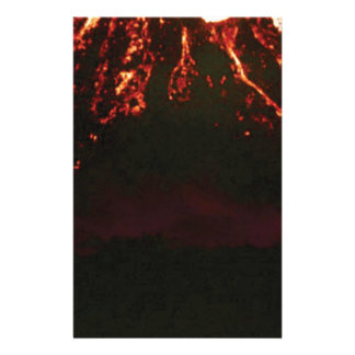 level volcanic cone stationery