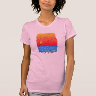Lever de soleil de lac torch tee shirt