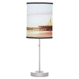 Lever de soleil de pilier de Santa Monica