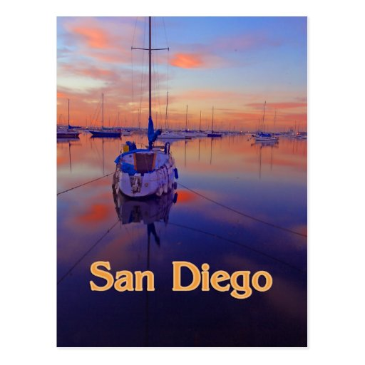 Lever de soleil de San Diego Carte Postale