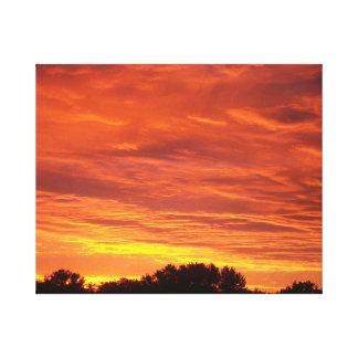 lever de soleil toiles
