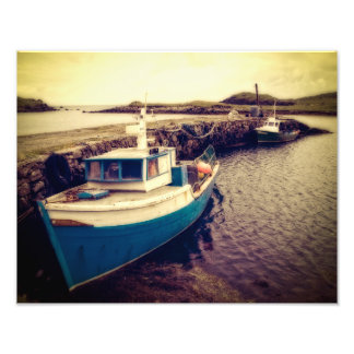 Leverburgh Harbour, Outer Hebrides Art Photo