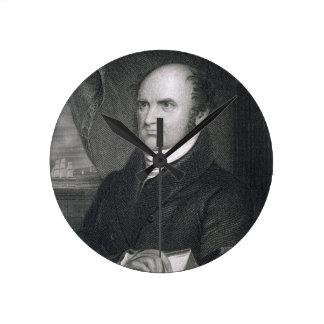 Levi Woodbury, engraved by Robert E. Whitechurch ( Clock