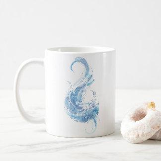 Leviathan Abstract Watercolor Coffee Mug
