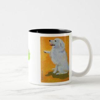 Levine's Bailey Two-Tone Coffee Mug