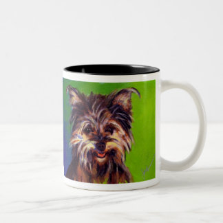 Levine's Haley Belle Two-Tone Coffee Mug