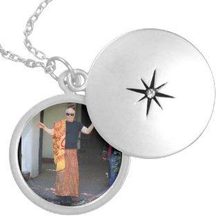 Levitation Morning Practice Tibetan Magic Silver Plated Necklace