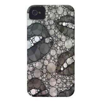 Lèvres impertinentes Blk&Wht Bling Coque iPhone 4 Case-Mate