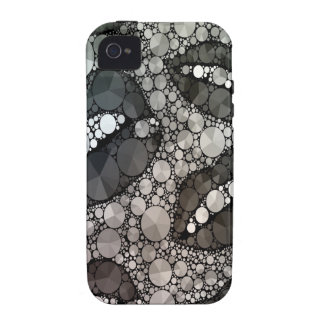 Lèvres impertinentes Blk&Wht Bling Coques Vibe iPhone 4
