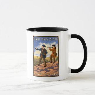 Lewis and Clark - Columbia River Gorge, Oregon Mug