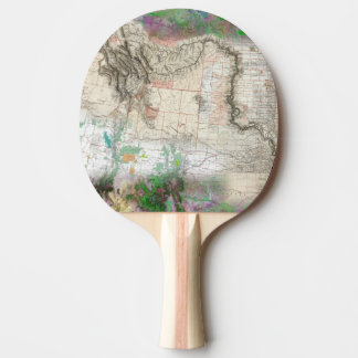 Lewis and Clark Ping Pong Paddle