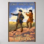 Lewis and Clark - Portland, Oregon Poster
